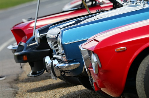 Classic Car Display - Sunday