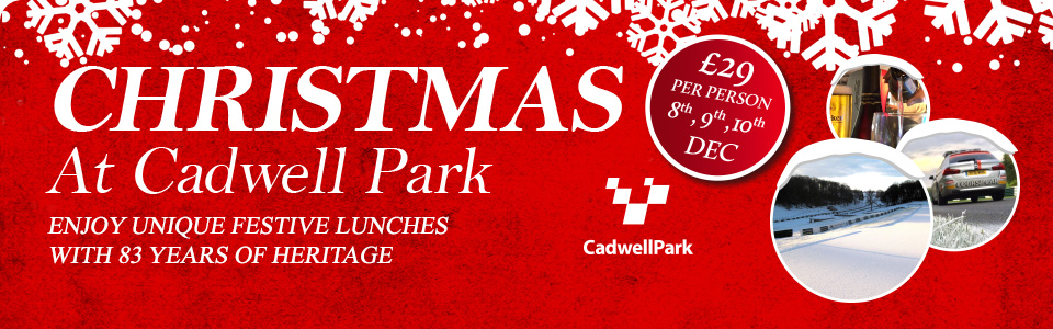 Christmas Luncheons at Cadwell Park