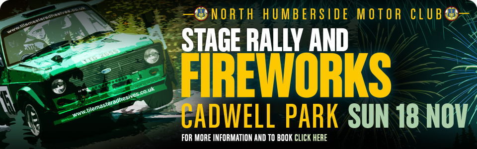 Rally and Fireworks - Cadwell Park