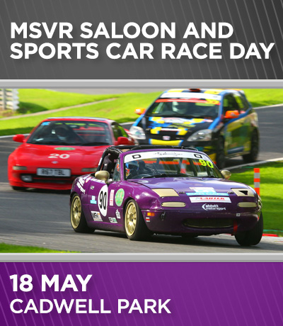 MSVR Sports and Saloon - Cadwell Park